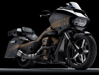 """SRT"", Paul Yaffe's Road King bagger built by Bagger Nation of Phoenix, AZ."