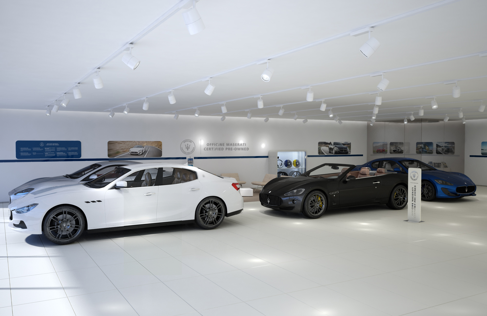 Officine Maserati Certified Pre-Owned