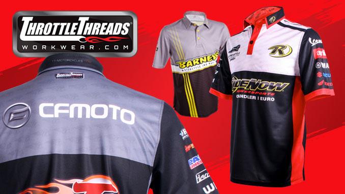 Throttle Threads workwear