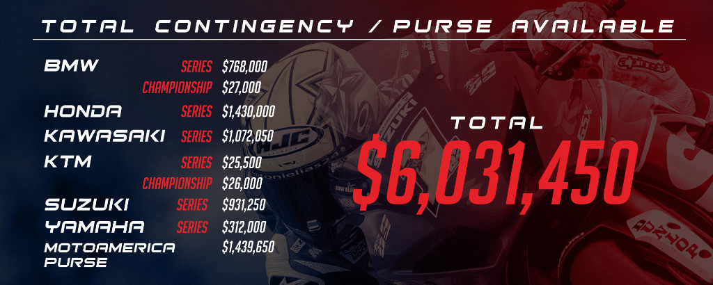 MotoAmerica Total Contingency - Purse