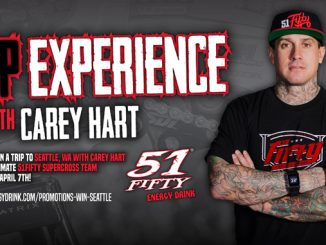 51FIFTY Energy Drink - Win A VIP Supercross Experience With Carey Hart