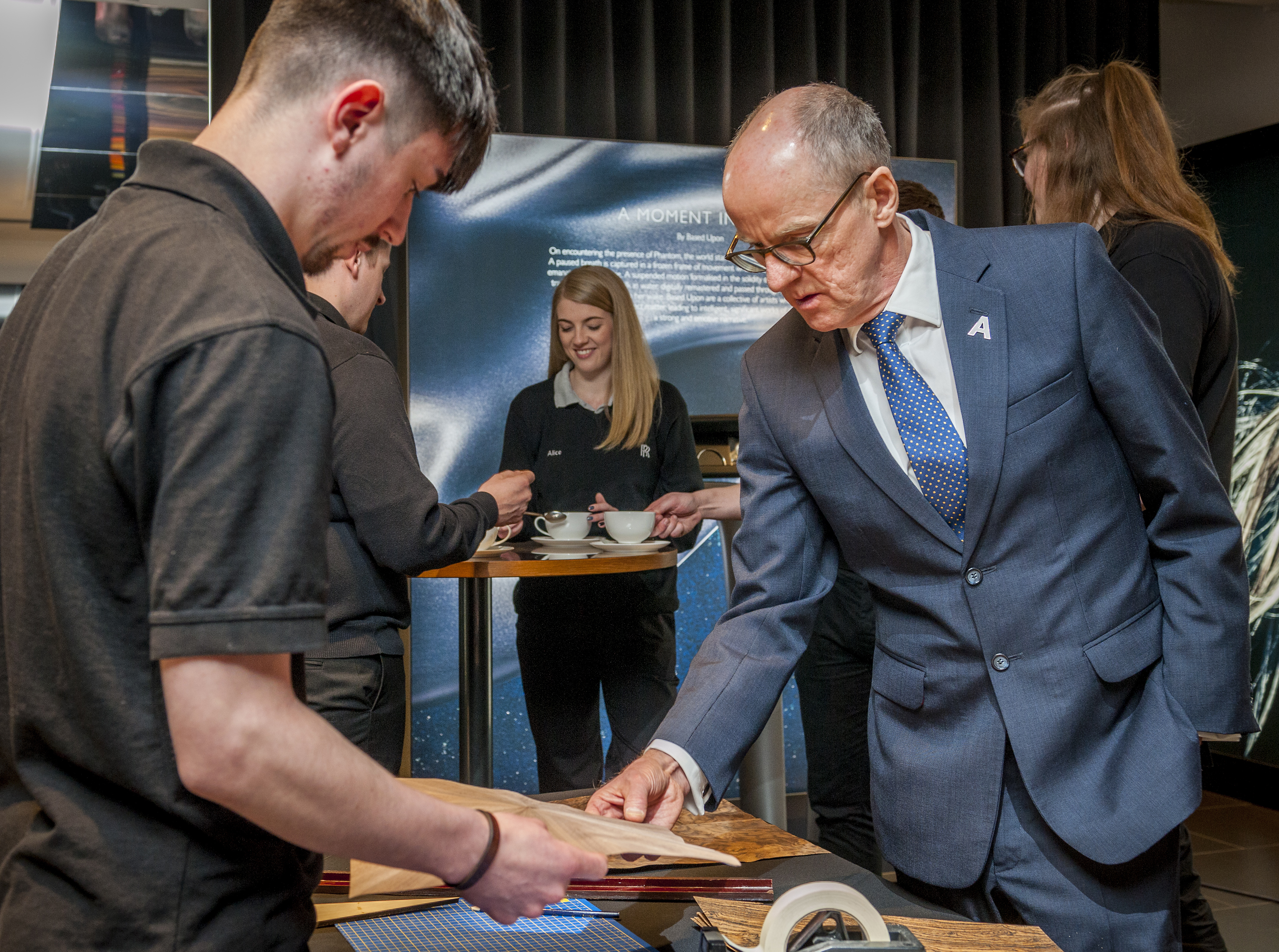 ROLLS-ROYCE WELCOMES MINISTER OF STATE DURING NATIONAL APPRENTICESHIP WEEK