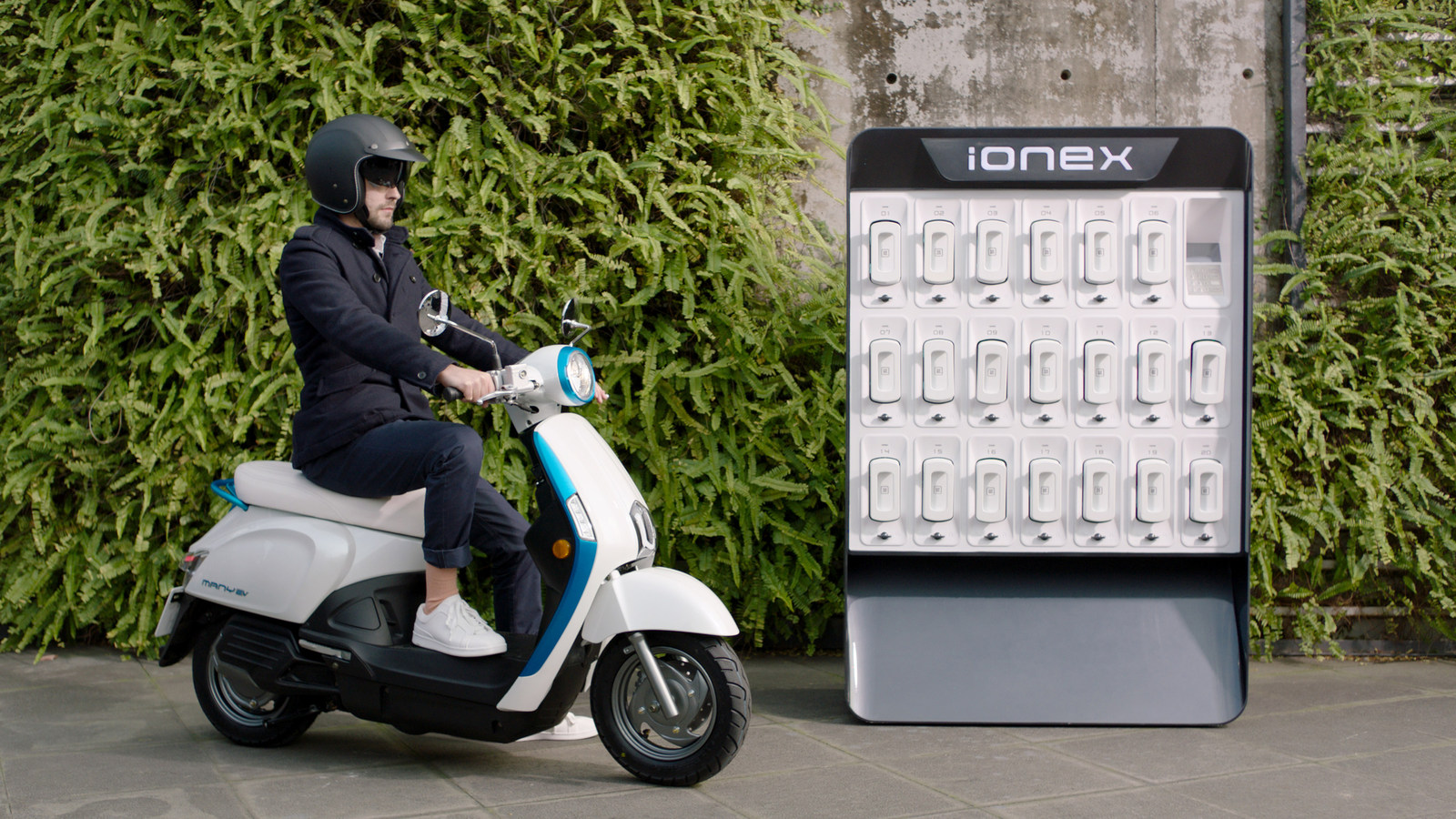 KYMCO Ionex Electric Scooter - Electric Vehicle Solution