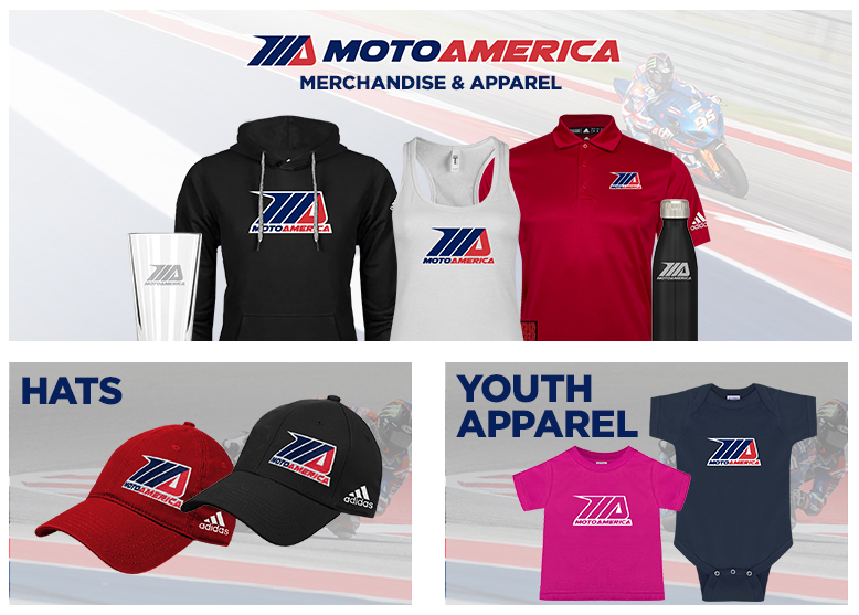 MotoAmerica Merchandise and Apparel - Advanced-Online