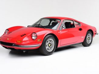 A stunning Rosso Red '72 Ferrari Dino 246 GT (Lot #722) highlights the South Florida Collection at the 2018 Palm Beach Auction