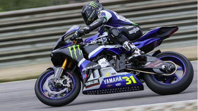 MotoAmerica Motul Superbike rookie Garrett Gerloff was the fastest of the Superbike riders - Dunlop Preseason Test
