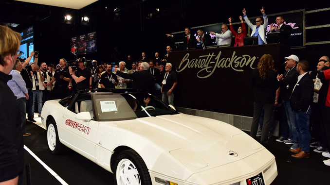 Carolyn and Craig Jackson's 1988 35th Anniversary Corvette Lot #3008 helped raise $350k for the American Heart Association