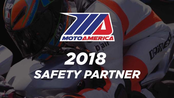 Dainese/AGV Official Safety Partner of MotoAmerica