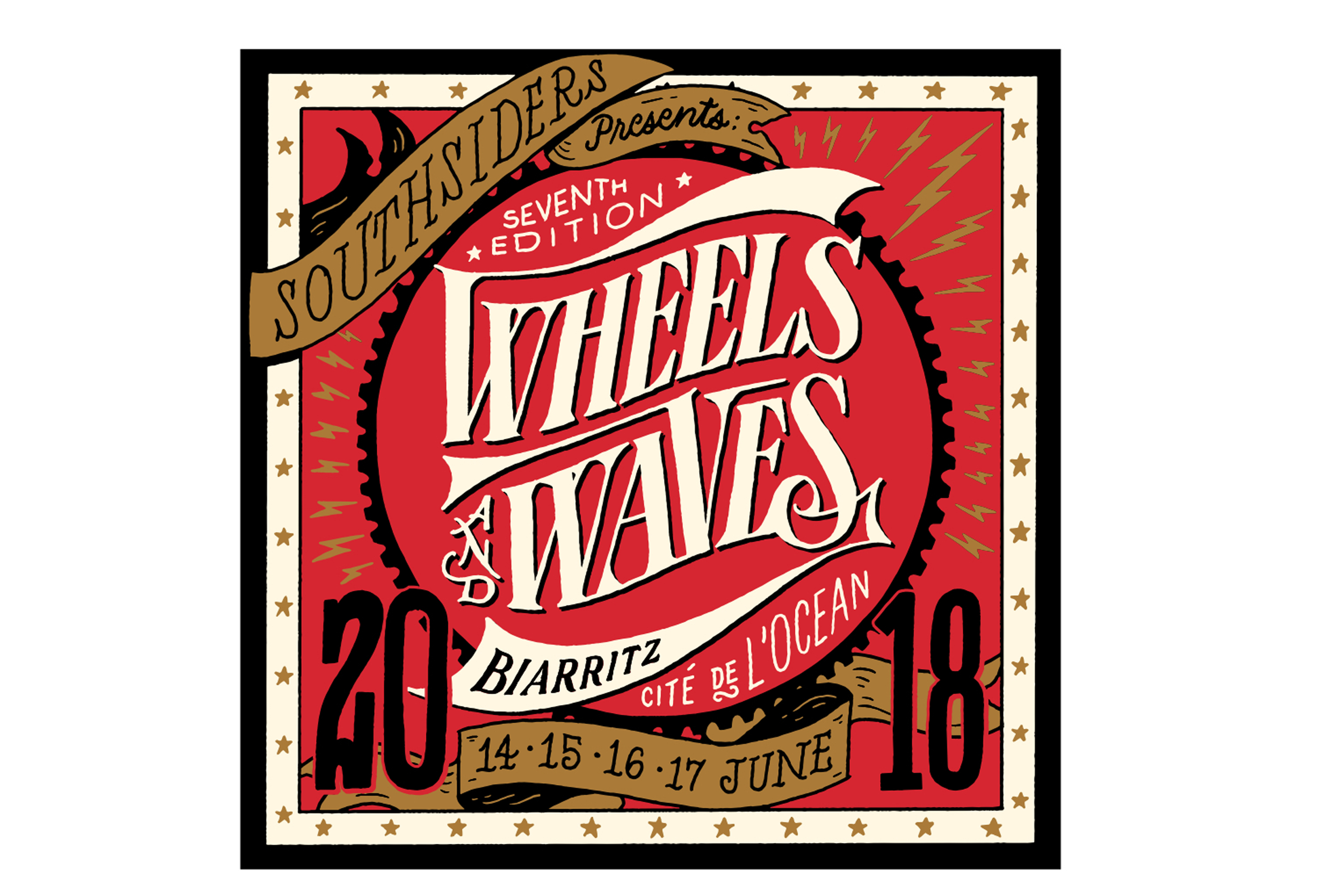 Indian Motorcycle wheels-waves