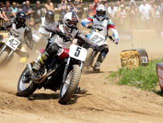 Indian Motorcycle wheels waves - racing