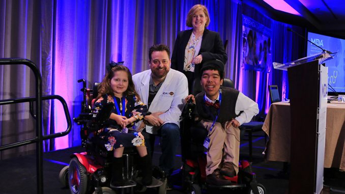 Milwaukee-based Harley-Davidson, Inc. was honored with a special award during the 2018 MDA Clinical Conference