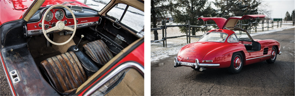 RM Auctions - 1957 Mercedes-Benz 300 SL Gullwing