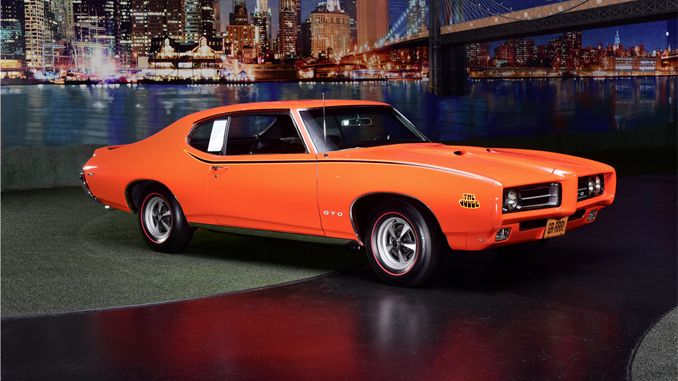 1969 Pontiac GTO Judge Ram Air IV - Palm Beach Auction