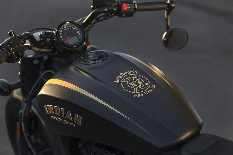 2018 Indian Motorcycle - jack-daniels scout bobber