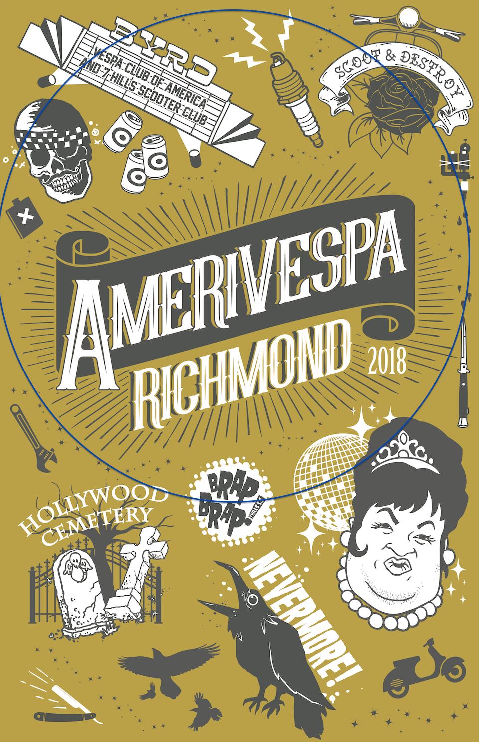 Amerivespa Poster