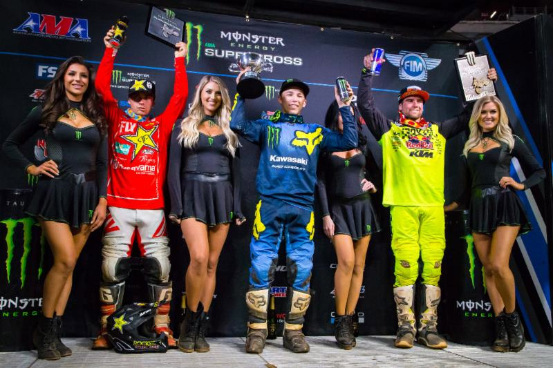 Austin Forkner tops the podium in Atlanta for the second Triple Crown Event