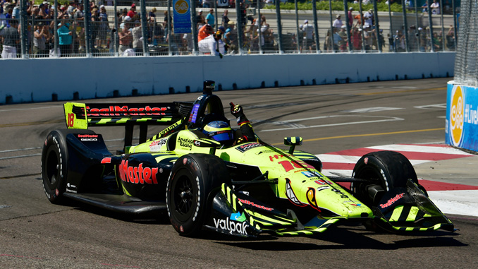 Bourdais Leads Honda Sweep of Indy Car Season Opener