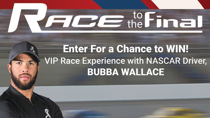 Cobra Race to the Final Sweepstakes with Bubba Wallace