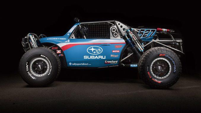 Crawford Performance Inc. - The Subaru Crosstrek Desert Racer confirms another season of off-road racing