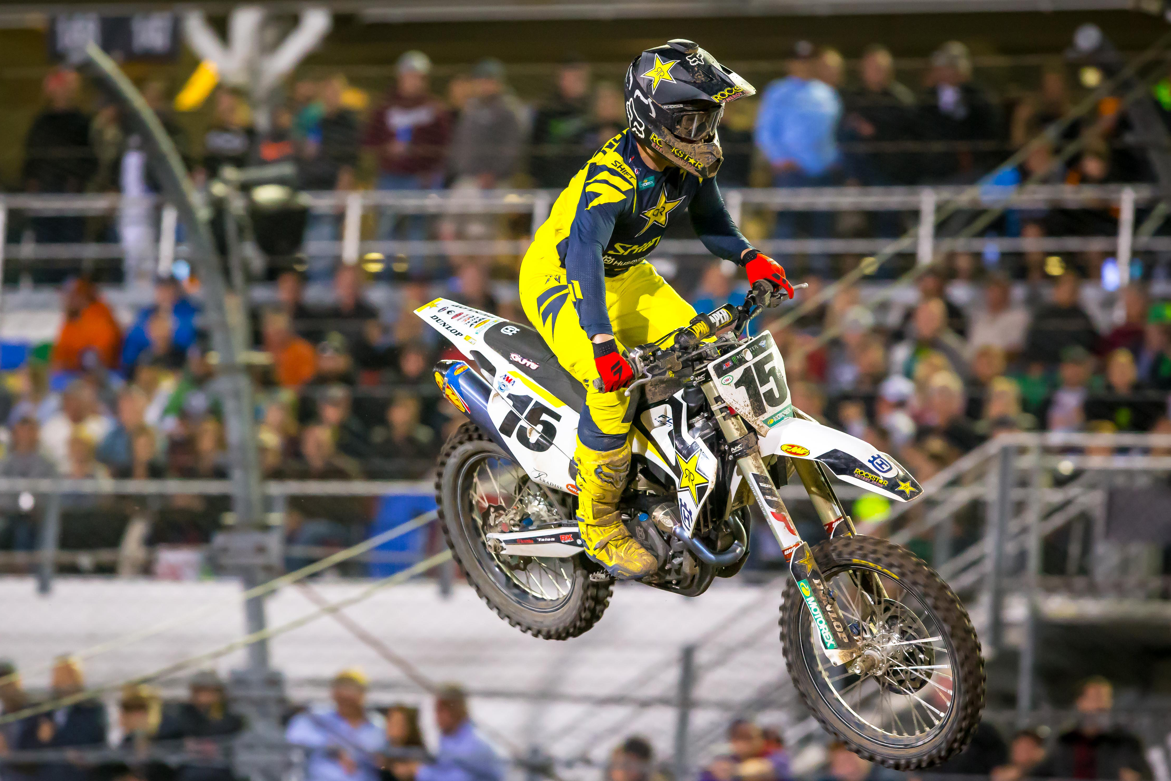 Daytona Supercross - Dean Wilson had his best qualifying session of the season and finished 8th