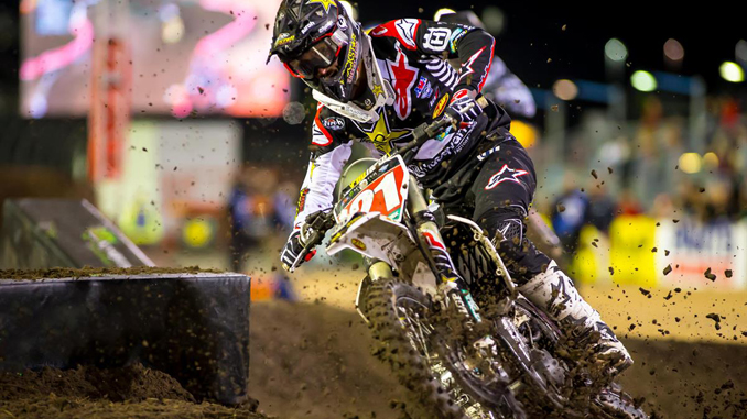 Daytona Supercross - Jason Anderson maintains his lead in the 450 Championship (Photo_ Simon Cudby)