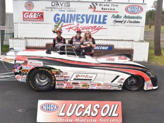 Papa Motorsports - Furr grabs Lucas Oil Super Gas Wally at The Baby Gators