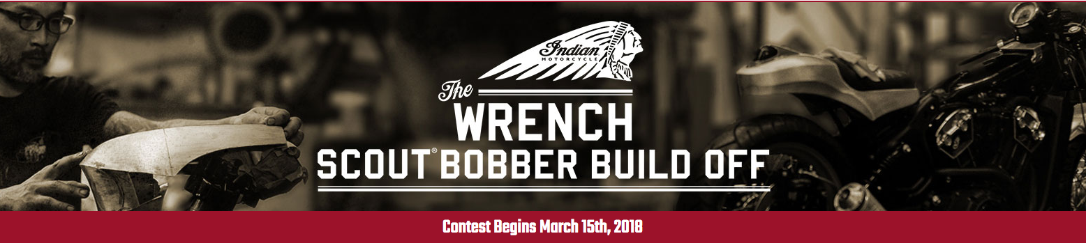 Indian Motorcycle - The Wrench - Scout Bobber Build Off