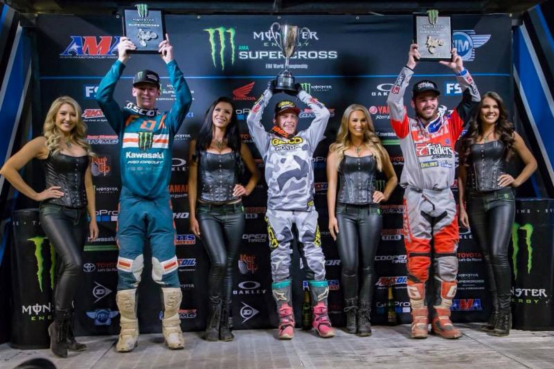 Musquin Back On Top With Monster Energy Supercross Win In