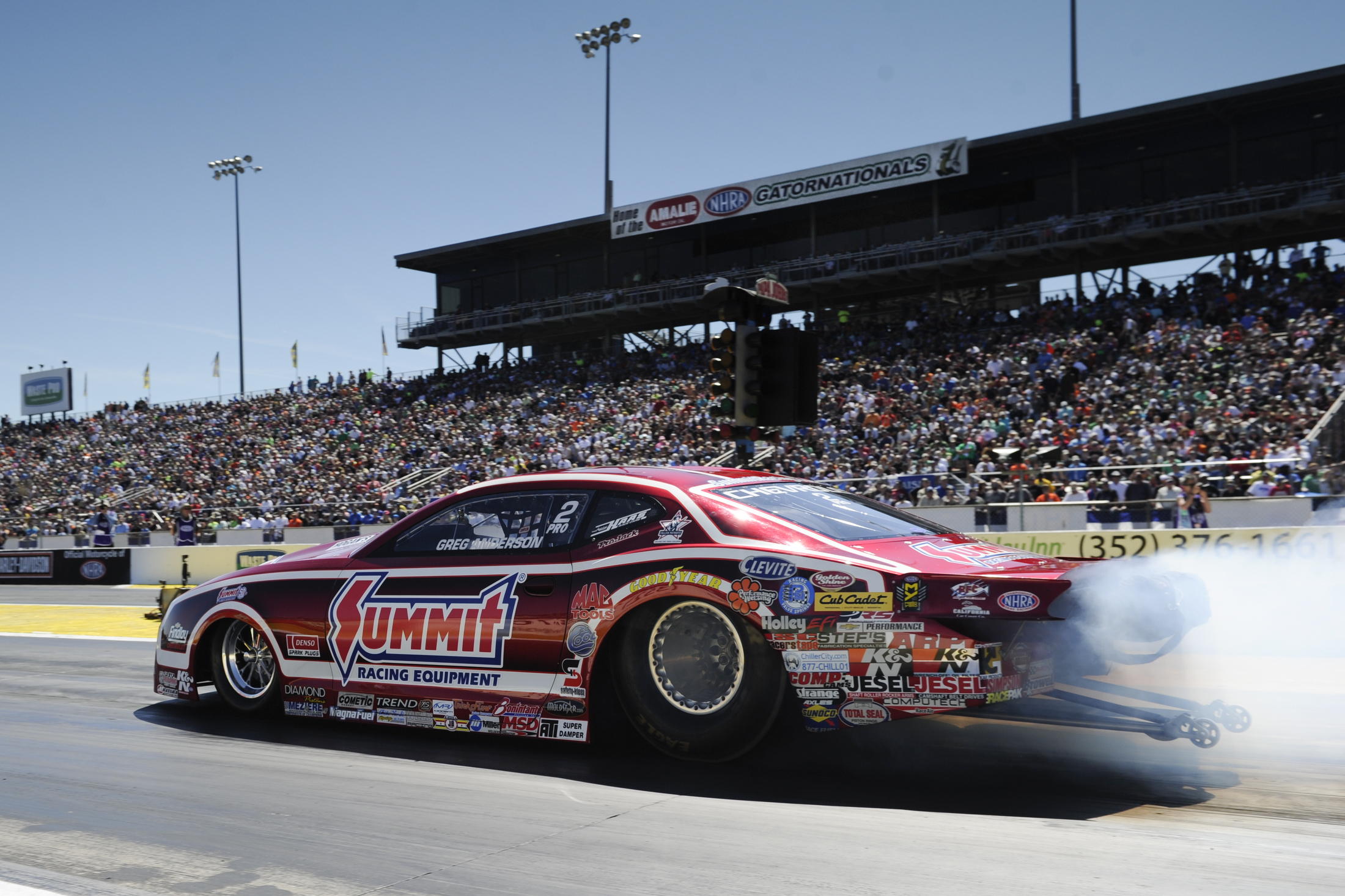 NHRA Pro Stock - Greg Anderson - Saturday - Gainesville - Gatornationals