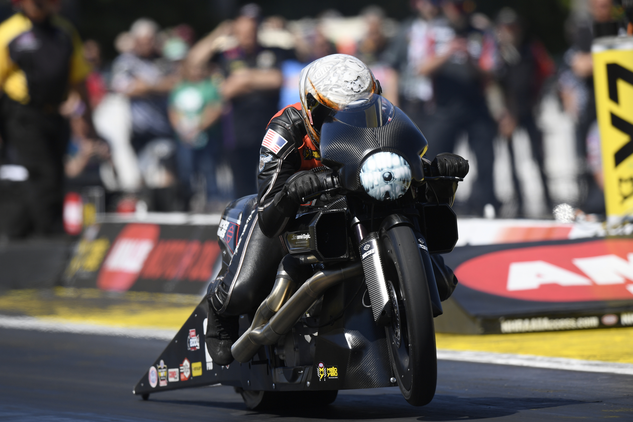 NHRA Pro Stock Motorcycle - Andrew Hines - Saturday - Gainesville - gatornationals