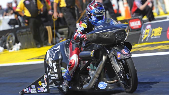 NHRA Pro Stock Motorcycle Angelle Sampey