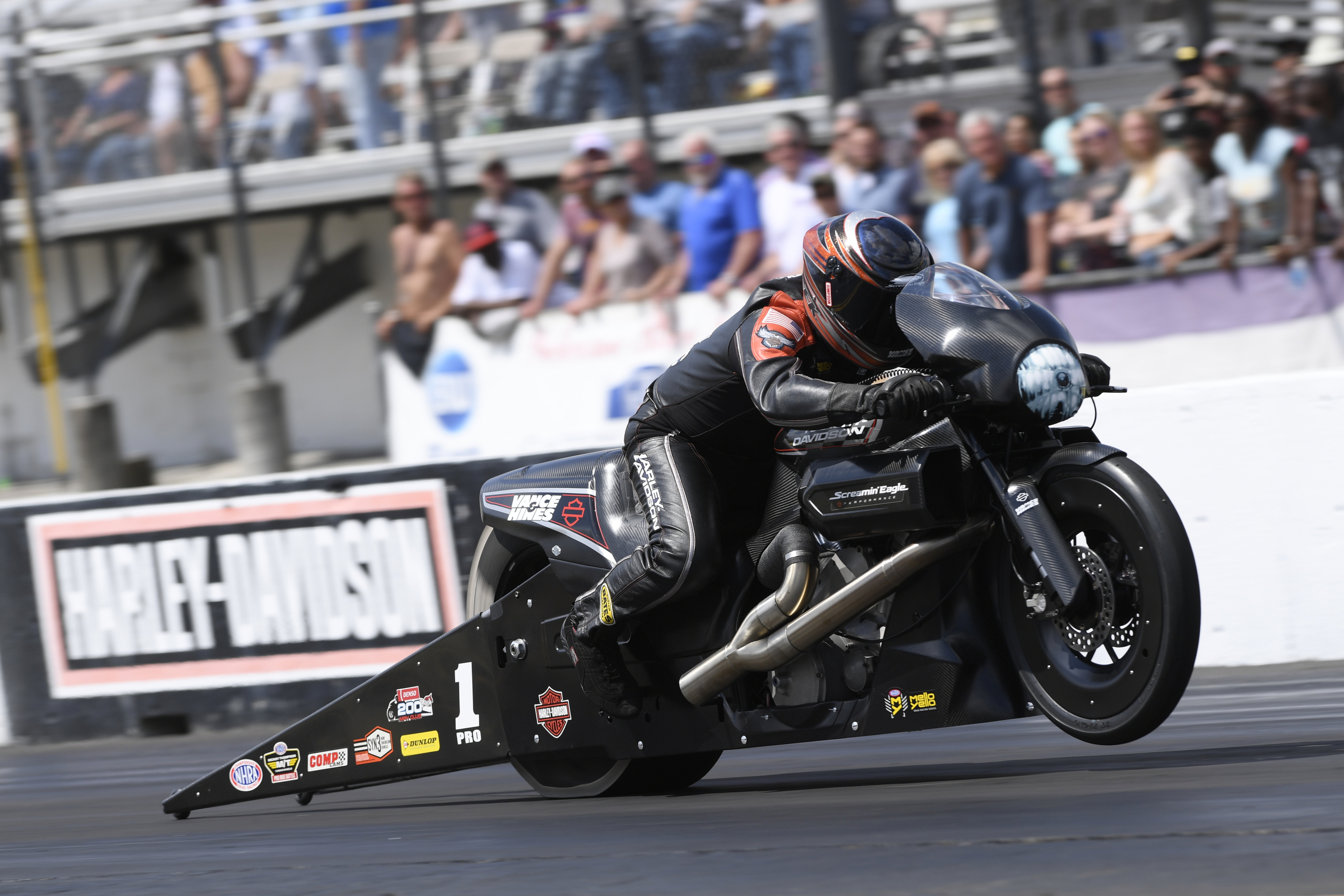 NHRA Pro Stock Motorcycle Eddie Krawiec - Sunday - Gainesville - Gatornationals