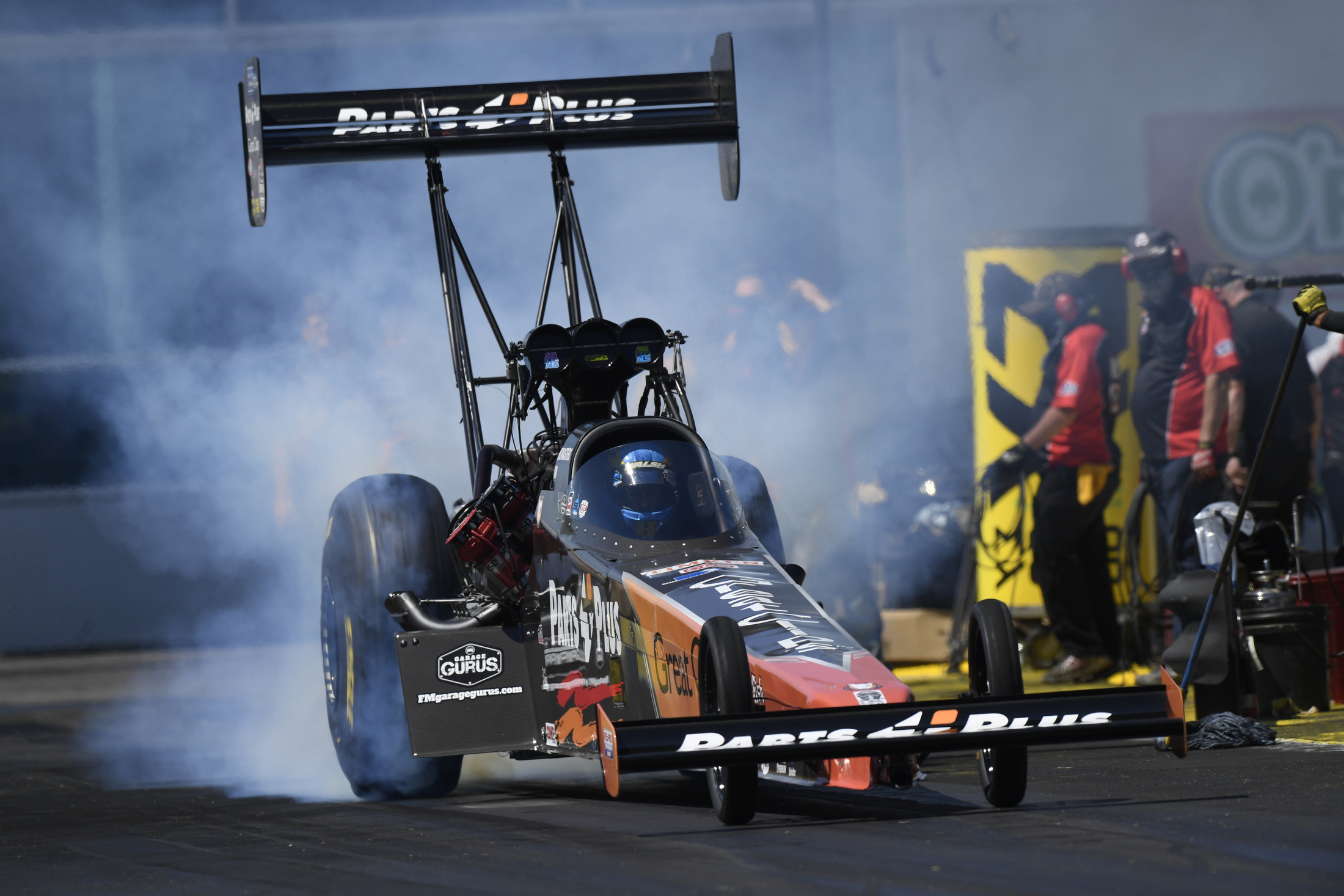 NHRA Top Fuel - Clay Millican - Saturday - Gainesville - Gatornationals