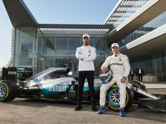 PETRONAS Lewis Hamilton and Valtteri Bottas