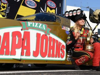 Papa John's Extends Official Partnership with National Hot Rod Association
