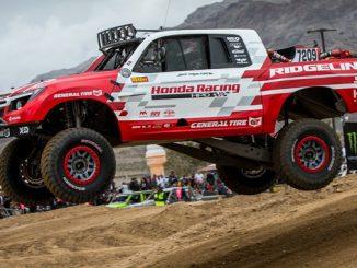 Ridgeline Baja Race Truck Runs Second at Mint 400