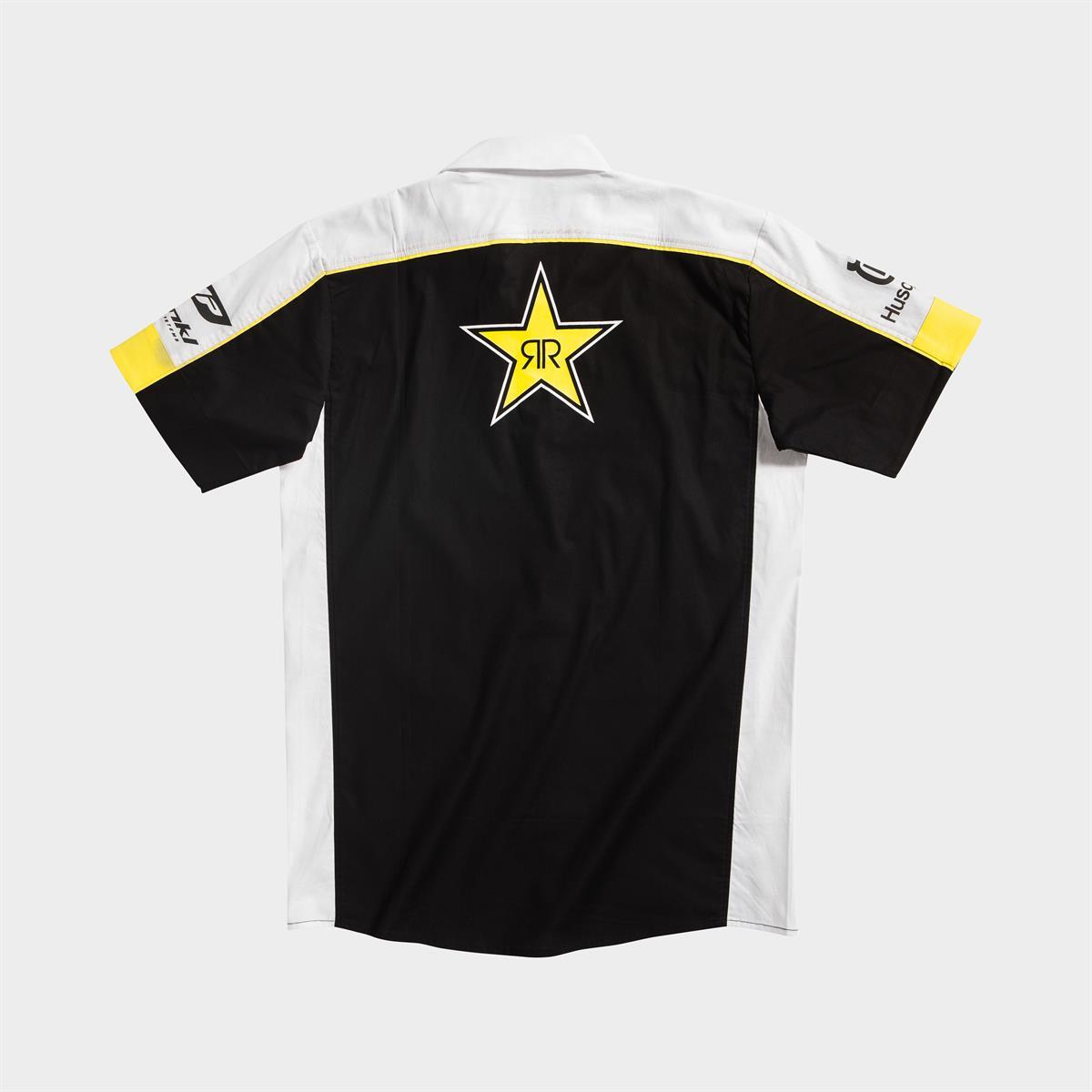 Rockstar Energy Husqvarna Factory Racing Replica Collection Team Shirt