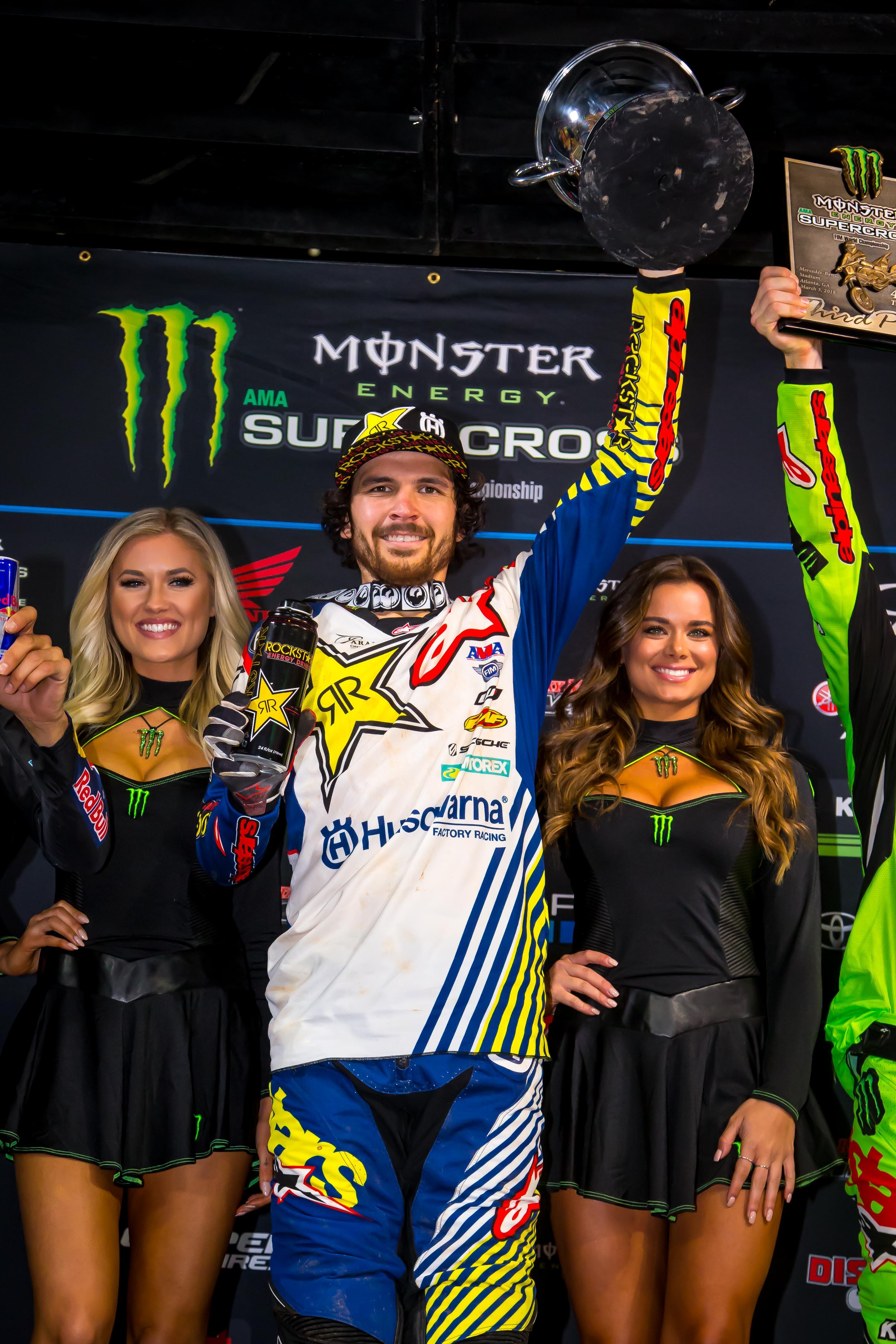 Rockstar Energy Husqvarna Factory Racing's Jason Anderson Wins in Atlanta! (Photo_ Simon Cudby)