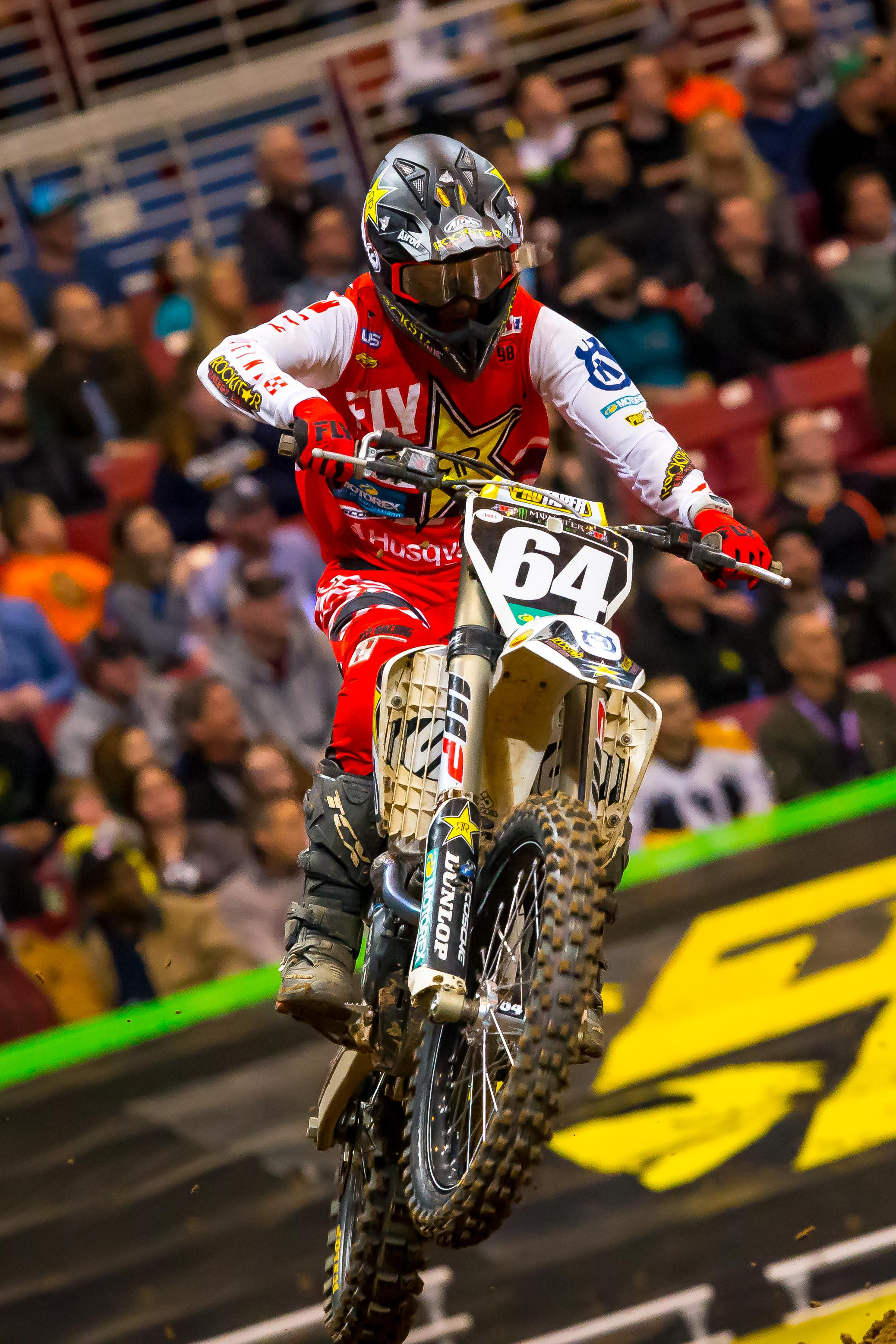 Rockstar Energy Husqvarna Factory Racing's Michael Mosiman (Photo_ Simon Cudby)