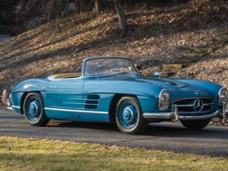 The 1962 Mercedes-Benz 300 SL offered from 40 years of single-ownership at RM Sotheby's Auctions Fort Lauderdale