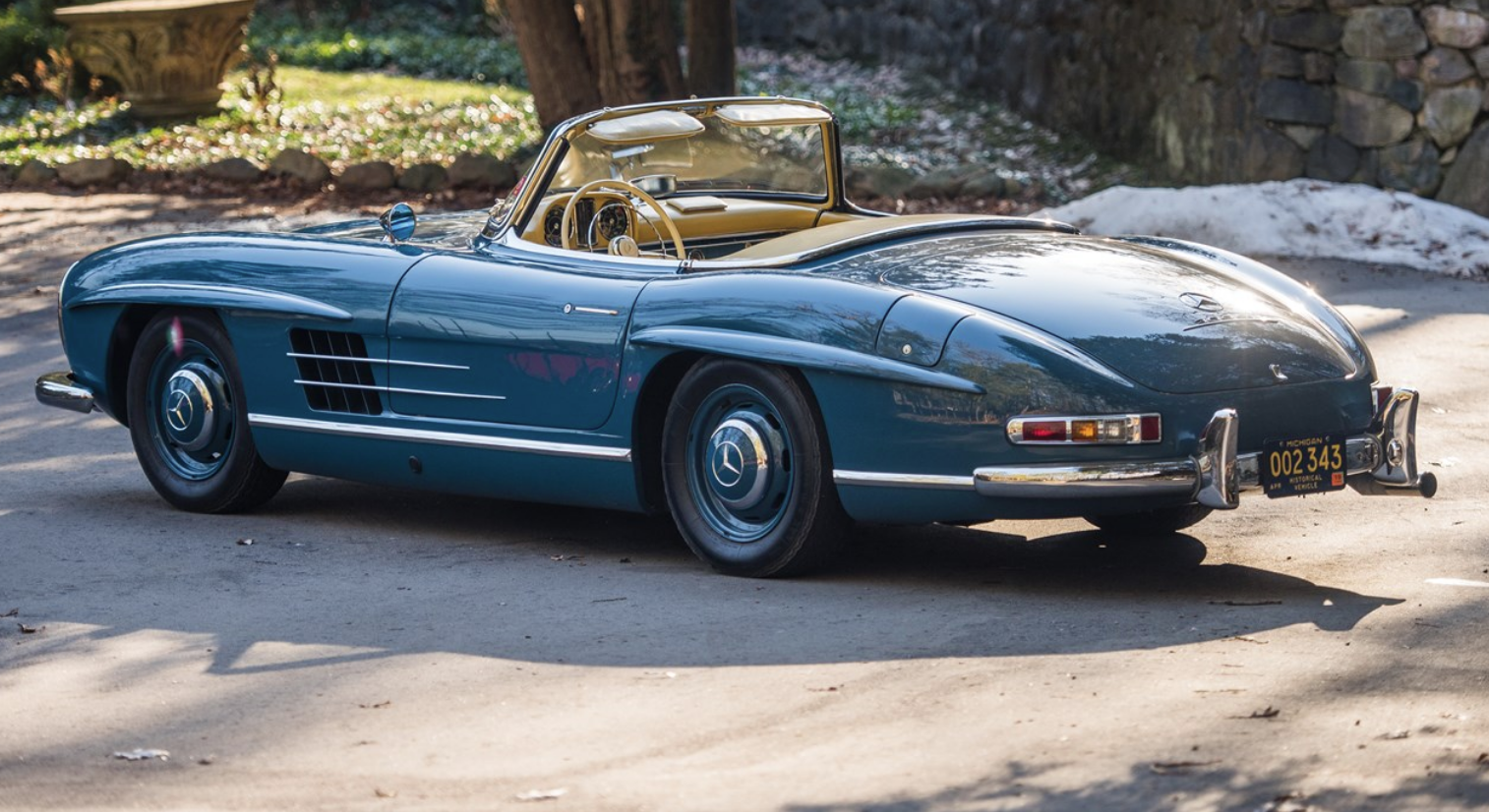 Rm Sotheby S Auctions Presents Mercedes Benz 300 Sl Roadster