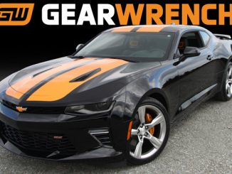 This customized 2018 Chevrolet Camaro SS is the Grand Prize in the GEARWRENCH® Win A Camaro Challenge