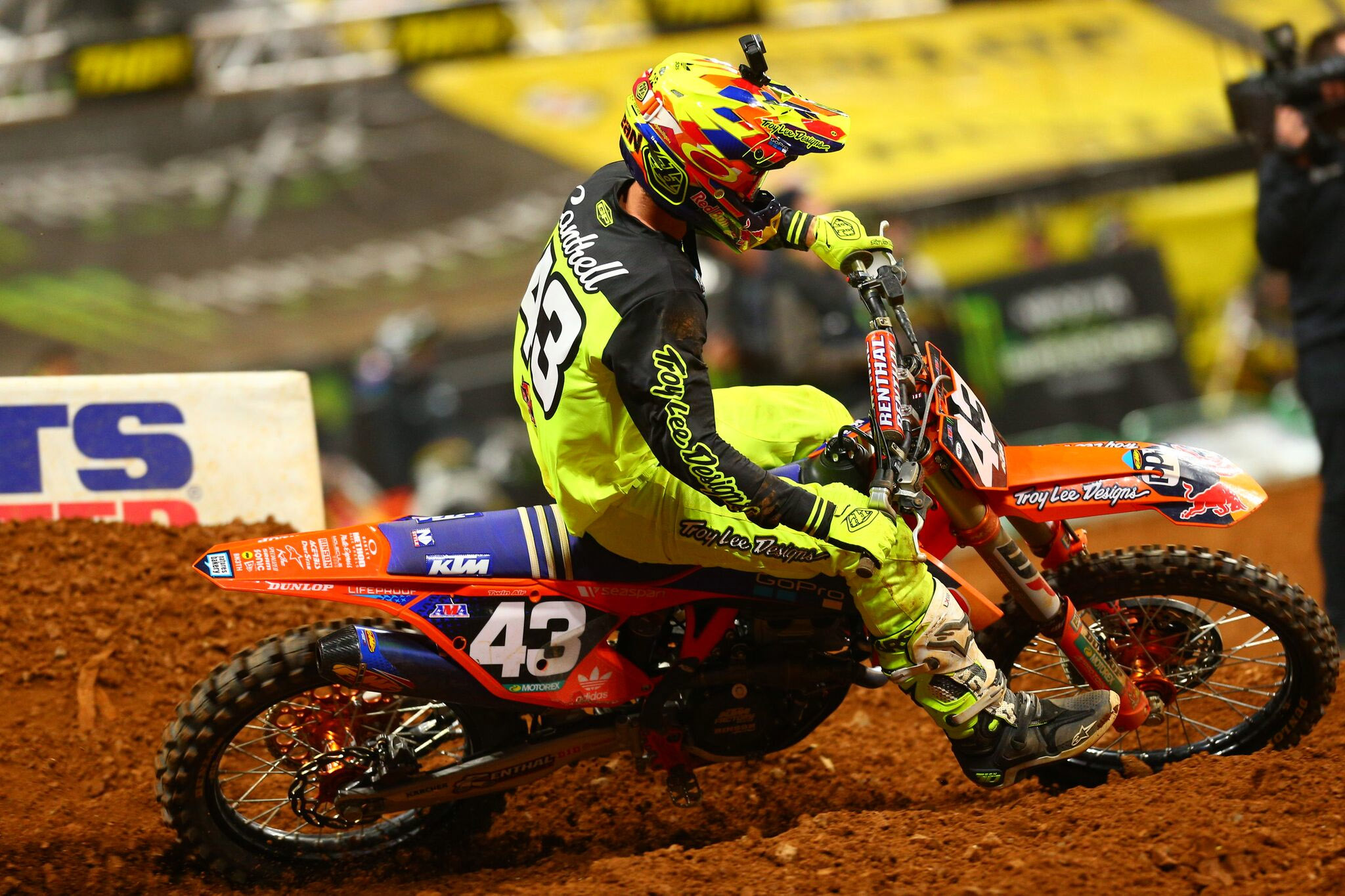 Troy Lee Designs-Red Bull-KTM's Cantrell Atlanta