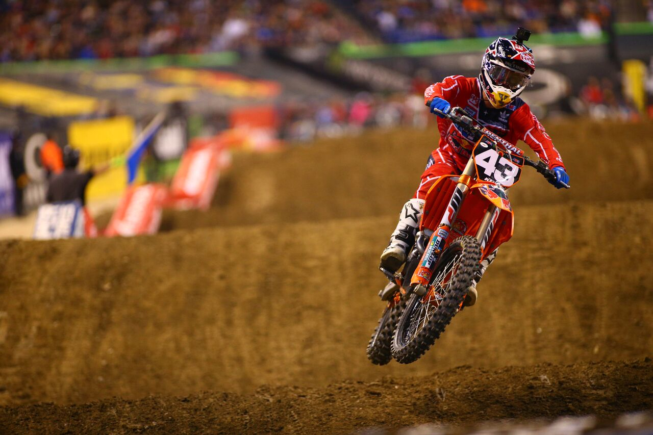 Troy Lee Designs-Red Bull-KTM's Cantrell at Indianapolis