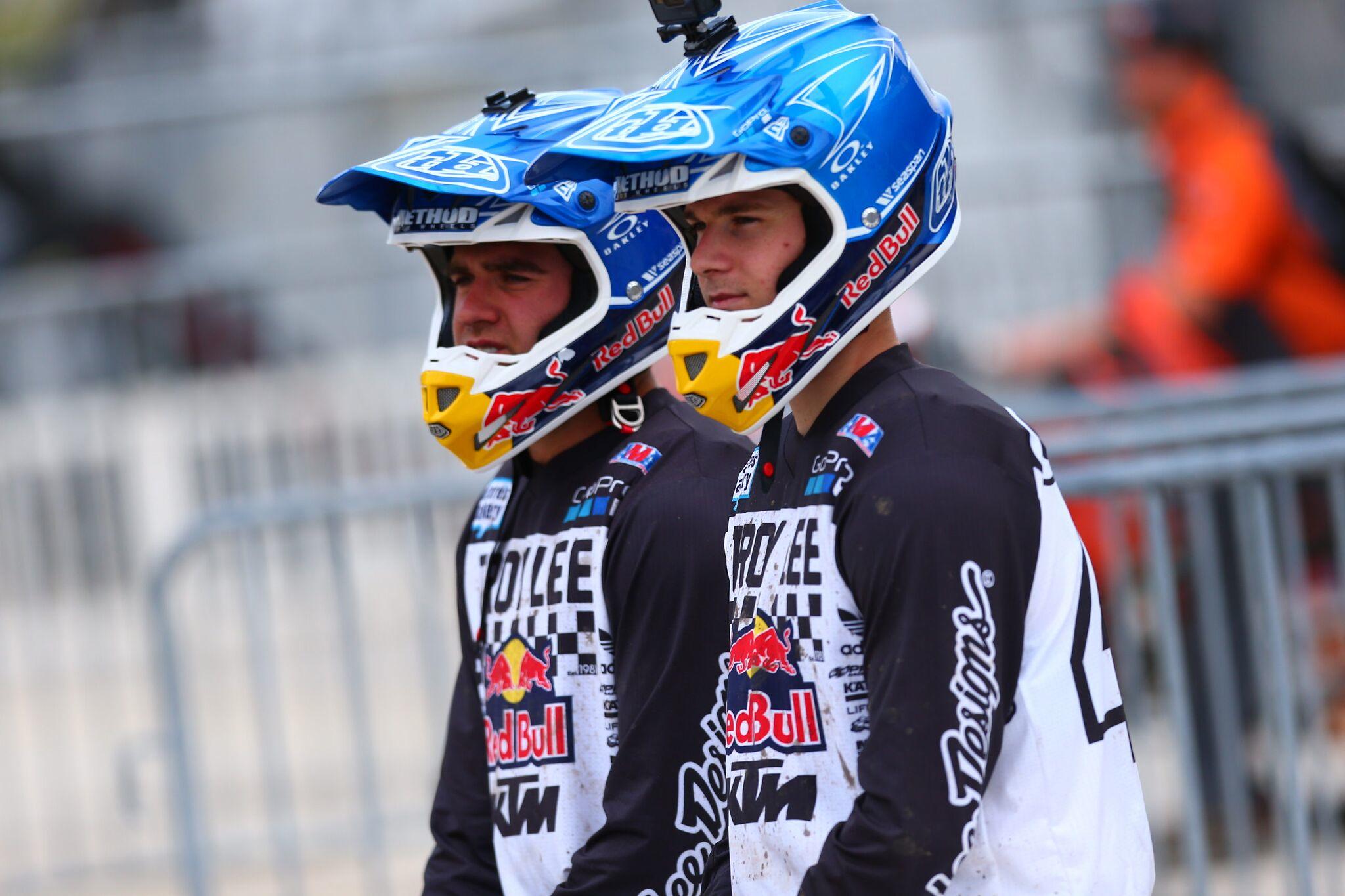 Troy Lee Designs-Red Bull-KTM's - Daytona Supercross