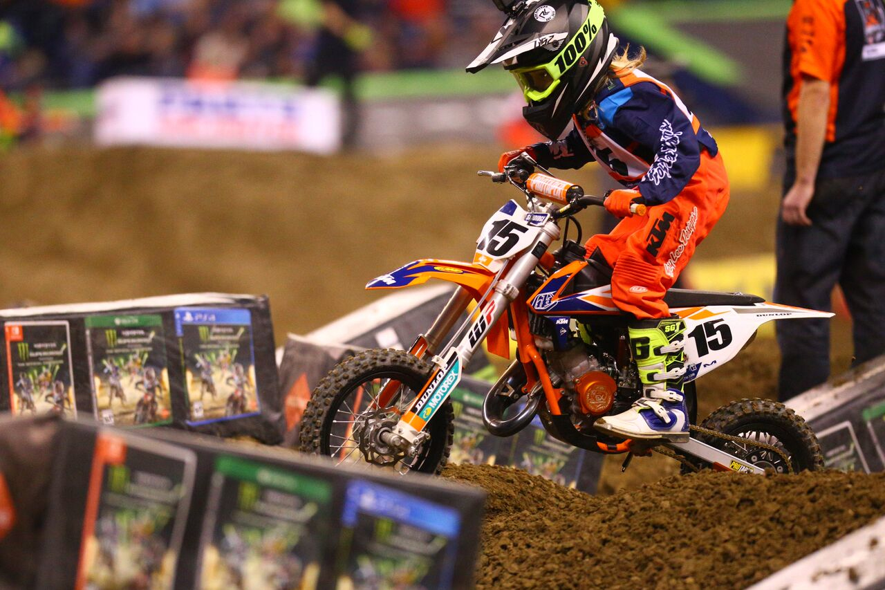Troy Lee Designs-Red Bull-KTM's KTM Junior Supercross Challenge at Indianapolis
