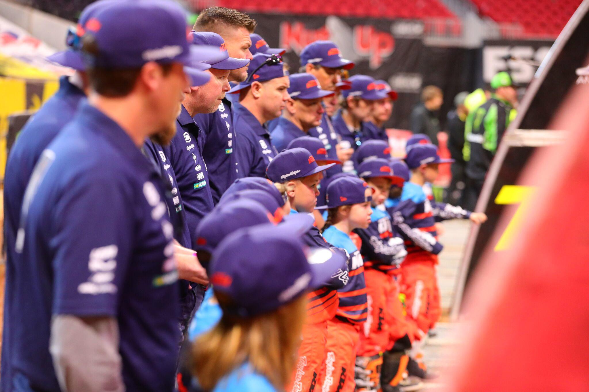 Troy Lee Designs-Red Bull-KTM's - KTM Junior Supercross Challenge