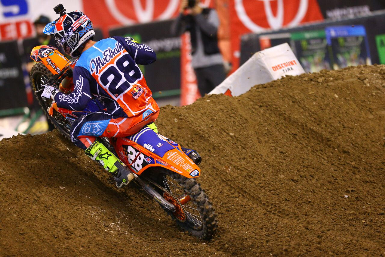 Troy Lee Designs-Red Bull-KTM's McElrath at Indianapolis