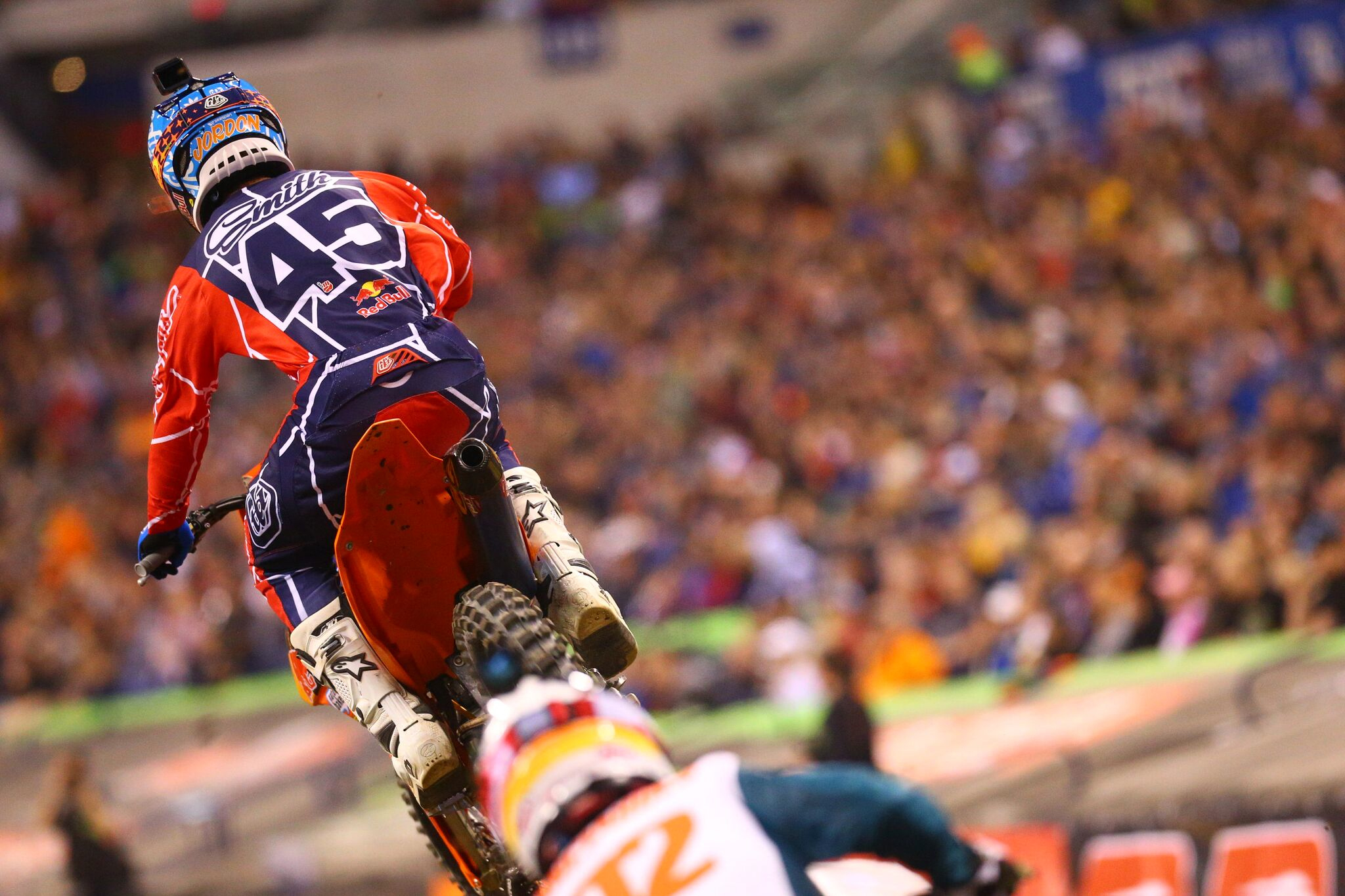 Troy Lee Designs-Red Bull-KTM's Smith Tightens Points Battle With Fourth Place at Indianapolis Showdown