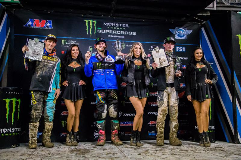 Monster Energy Supercross - Aaron Plessinger Regional 250SX Class points lead in Seattle.